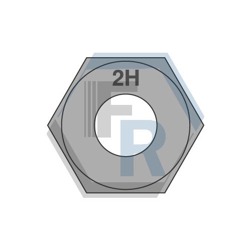 A194 Grade 2H, Imported Icon