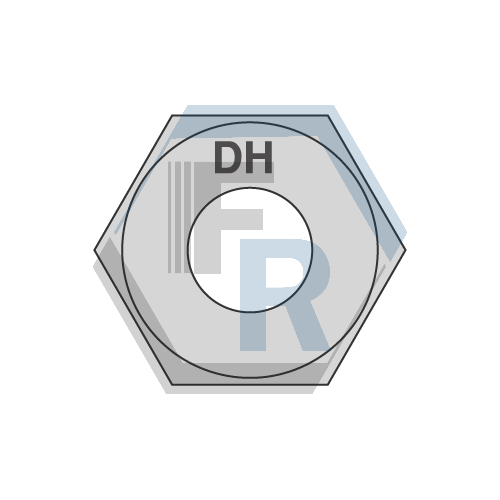 A563 Grade DH Heavy Hex Icon