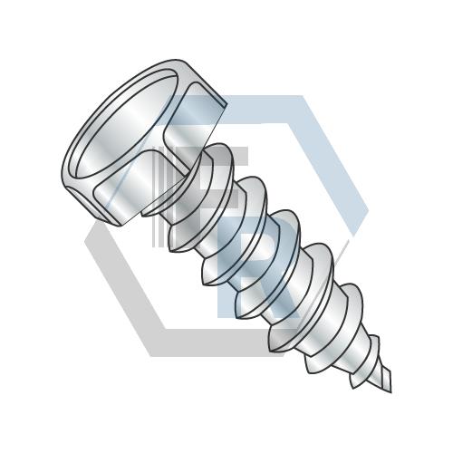 Unslotted, Steel Zinc Icon