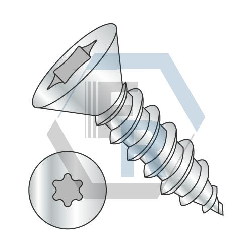 Six-Lobe, Steel Zinc Icon