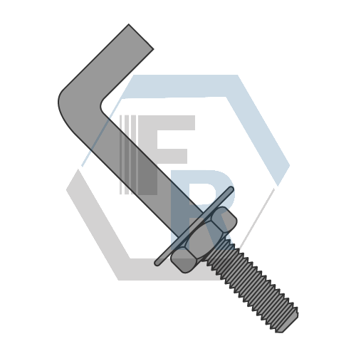 Anchor Bolts, Bent Icon