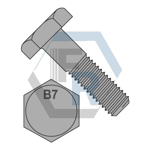 Heavy Hex Bolt, Plain Icon
