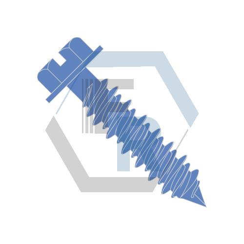 Hex Washer Slot, Steel Blue Ruspert Icon