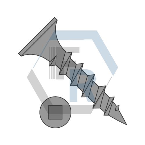 Coarse w/Sharp pt, Black Phos icon