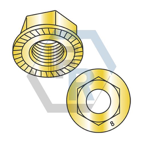 Serated, Class 8 RoHS Zinc Yellow Icon