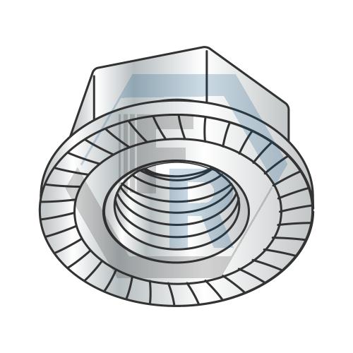 DIN 6923 Class 8, Steel Zinc Icon