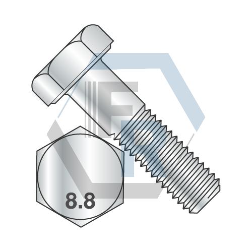 DIN 931 Class 8.8, Steel Zinc Icon