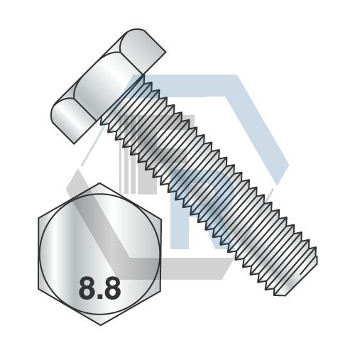 DIN 933 Class 8.8 Full Thrd, Zinc icon
