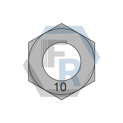 Class 10 Style 1 Steel Plain Icon