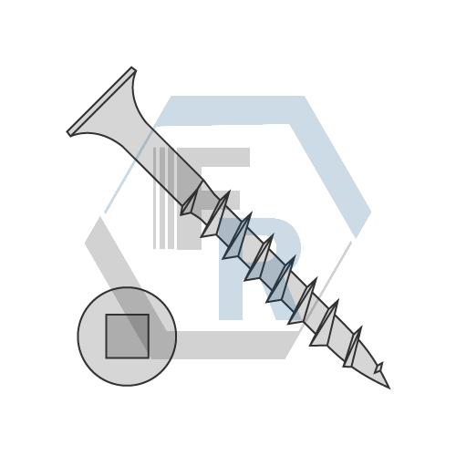 Sharp Pt, Steel Dacro icon