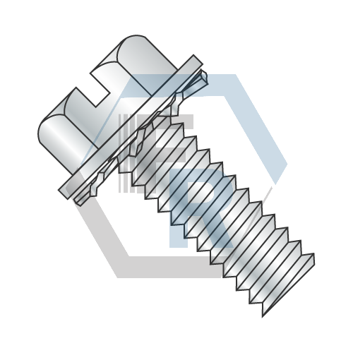 Int. Tooth, Steel Zinc Icon