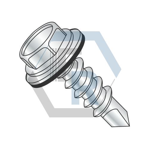 Steel Zinc, w/Neo-EPDM Washer #2 & #3 Pt. Icon
