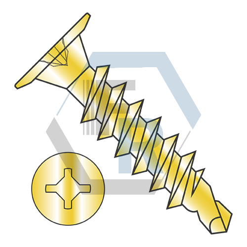 "Combo, Steel Zinc, 1/4"" A.F. Icon"