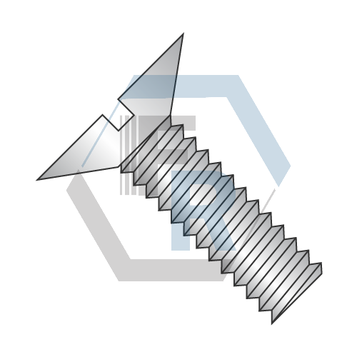 Slotted, 18-8 Stainless Icon