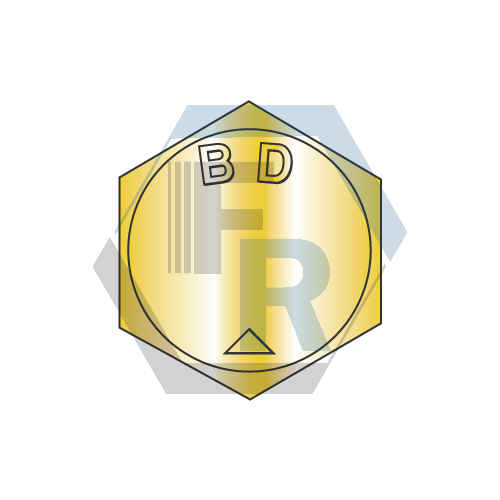 ASME B18.2.1 GrBD, Fine, Yellow Zinc Icon