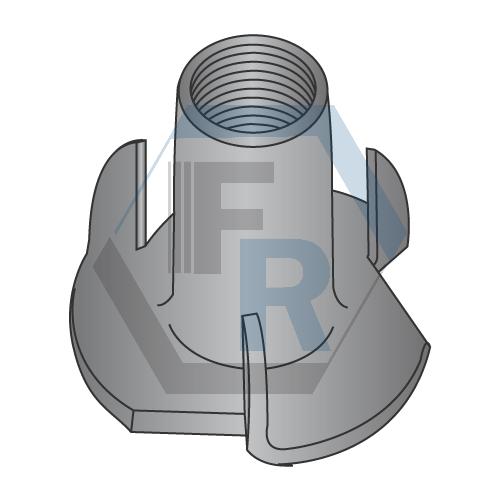 3 Prong, Steel Black Zinc Icon
