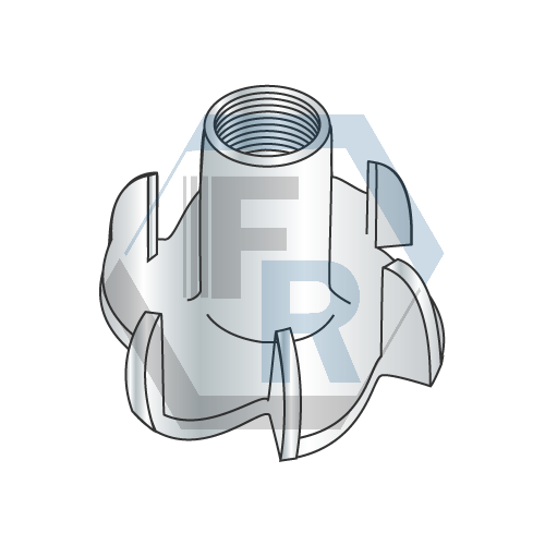 6 Prong, Steel Zinc Icon