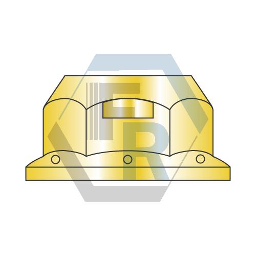 Grade-G Flange, Steel Zinc Yellow icon