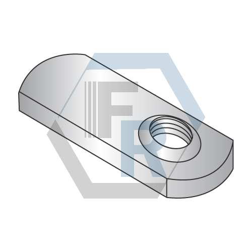 Offset Hole Single Projection Icon