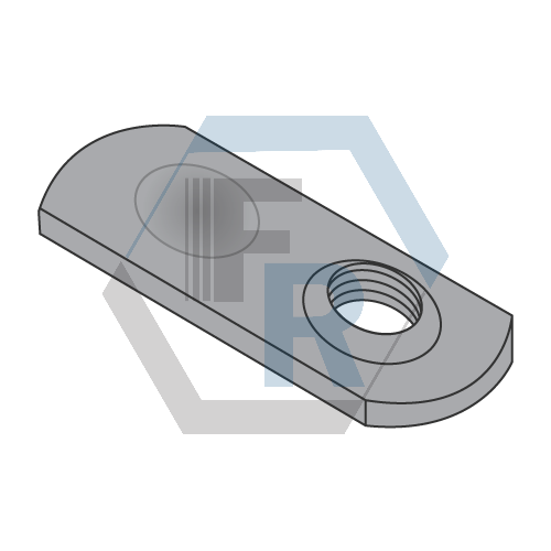 Thin, Steel Plain Icon