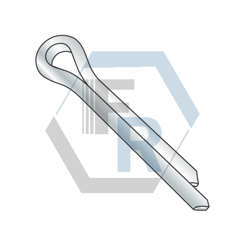 Cotter Pins, Steel Zinc Icon