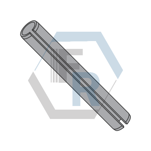 Slotted Spring Pins, Steel Black and Oiled Icon
