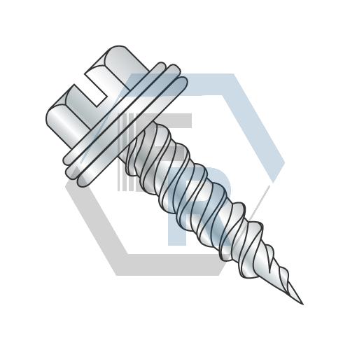 "Steel Zinc w/Neo-EPDM Washer, 1/4"" AF Icon"