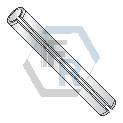 Slotted Spring Pins, Steel Zinc icon