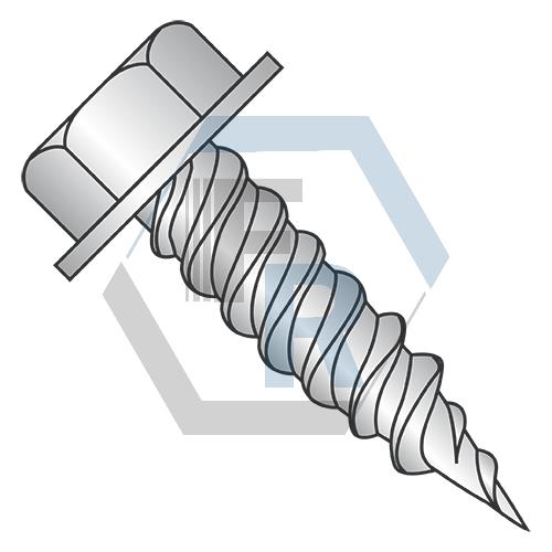 "Steel Zinc, 3/8"" A.F. Icon"